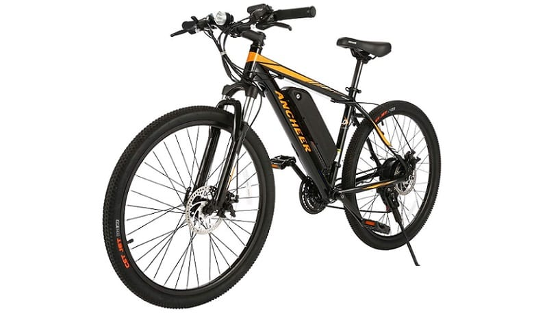Ancheer Red Sunshine Electric Bike Review