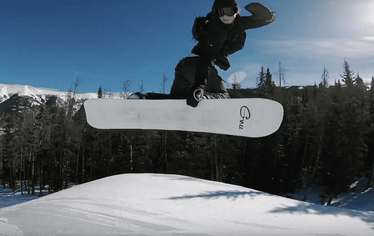 Using Electric Snowboard
